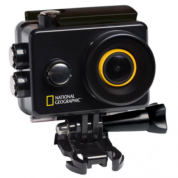 National Geographic Explorer 2 Fuld HD action kamera m/WiFi